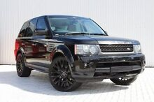 2010 Land Rover Range Rover Sport L320 11MY TDV6 Black 6 Speed Sports Automatic Wagon Embleton Bayswater Area Preview