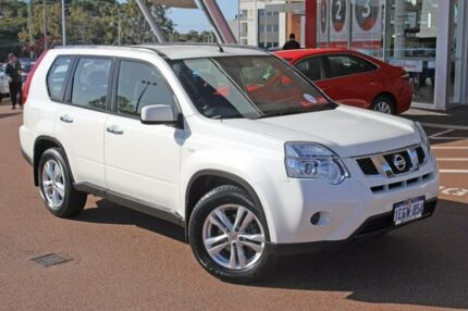 2013 Nissan X-Trail T31 Series V ST White 1 Speed Constant Variable Wagon Myaree Melville Area Preview