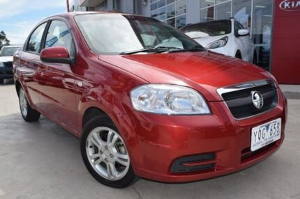 2011 Holden Barina TK MY11 Red 5 Speed Manual Sedan Hoppers Crossing Wyndham Area Preview
