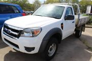 2011 Ford Ranger PK XL Super Cab 4x2 Hi-Rider White 5 Speed Manual Cab Chassis Underwood Logan Area Preview