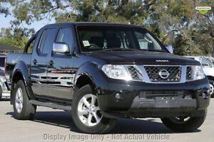 2014 Nissan Navara D40 S5 MY12 ST-X 550 Black 7 Speed Sports Automatic Utility East Rockingham Rockingham Area Preview