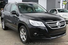 2009 Volkswagen Tiguan 5N MY09 147TSI 4MOTION Black 6 Speed Sports Automatic Wagon Liverpool Liverpool Area Preview
