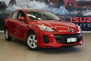 2013 Mazda 3 BL MY13 Neo Red 5 Speed Automatic Hatchback Rockingham Rockingham Area Preview