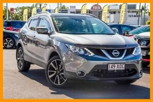 2017 Nissan Qashqai J11 TI Grey 1 Speed Constant Variable Wagon Aspley Brisbane North East Preview