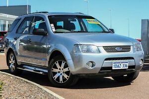 2008 Ford Territory SY TS Silver 4 Speed Sports Automatic Wagon East Rockingham Rockingham Area Preview