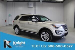 2017 Ford Explorer Limited Demo 4,200 Km, Navigation, Moon Roof