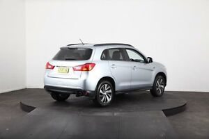 2014 Mitsubishi ASX XB MY15 LS (2WD) Silver Continuous Variable Wagon Mulgrave Hawkesbury Area Preview