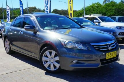 2013 Honda Accord 8th Gen MY12 V6 Luxury Grey 5 Speed Sports Automatic Sedan Pearce Woden Valley Preview