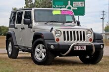 2007 Jeep Wrangler JK Unlimited Sport Silver 5 Speed Automatic Softtop Springwood Logan Area Preview