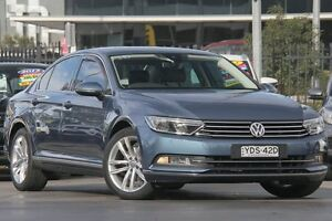 2015 Volkswagen Passat 3C MY16 140 TDI Highline Blue 6 Speed Direct Shift Sedan Penrith Penrith Area Preview
