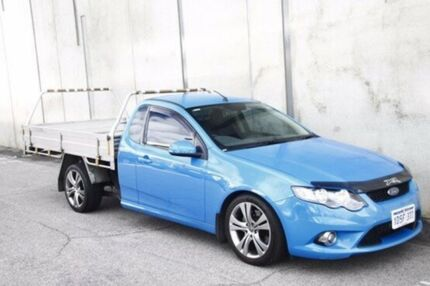 2011 Ford Falcon FG MkII XR6 Ute Super Cab Turbo Blue 6 Speed Sports Automatic Utility