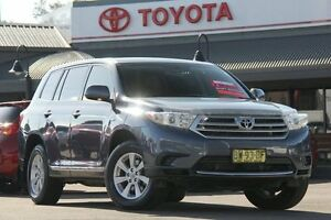 2013 Toyota Kluger GSU40R MY12 KX-R 2WD Cosmos Blue 5 Speed Sports Automatic Wagon Windsor Hawkesbury Area Preview