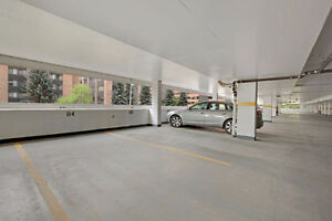 Covered and secured parking available - downtown Calgary