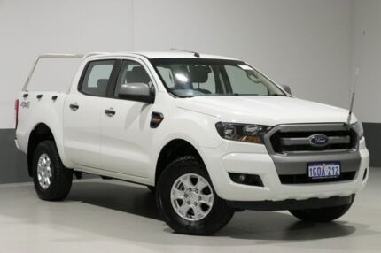 2015 Ford Ranger PX MkII XLS 3.2 (4x4) White 6 Speed Automatic Dual Cab Utility Bentley Canning Area Preview
