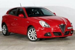 2013 Alfa Romeo Giulietta Progression TCT Red 6 Speed Sports Automatic Dual Clutch Hatchback Alexandria Inner Sydney Preview