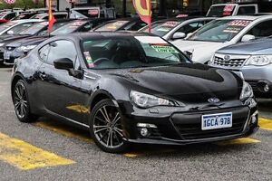 2013 Subaru BRZ Z1 MY13 Black 6 Speed Manual Coupe Willagee Melville Area Preview