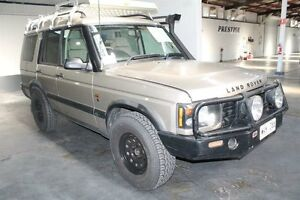 2002 Land Rover Discovery ES TD5 (4x4) Gold 4 Speed Automatic Wagon Pennington Charles Sturt Area Preview