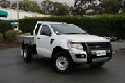 2014 Ford Ranger PX XL White 6 Speed Manual Cab Chassis Acacia Ridge Brisbane South West Preview