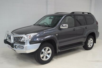 2009 Toyota Landcruiser Prado GRJ120R GXL Grey 5 Speed Automatic Wagon
