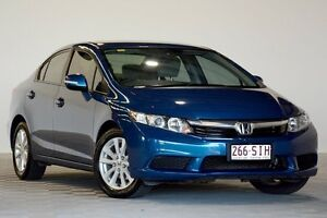 2012 Honda Civic MY12 VTi-L Blue 5 Speed Automatic Sedan Coopers Plains Brisbane South West Preview