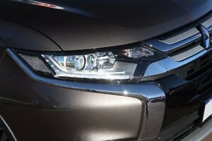 2015 Mitsubishi Outlander ZK MY16 XLS 2WD Brown 6 Speed Constant Variable Wagon Cannington Canning Area Preview