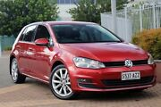 2014 Volkswagen Golf VII MY14 103TSI DSG Highline Red 7 Speed Sports Automatic Dual Clutch Hatchback Wayville Unley Area Preview