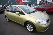 2006 Nissan Tiida C11 ST Yellow 4 Speed Automatic Hatchback Kingsville Maribyrnong Area Preview