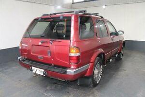 1997 Nissan Pathfinder TI (4x4) Red 4 Speed Automatic 4x4 Wagon Pennington Charles Sturt Area Preview