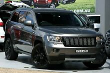 2012 Jeep Grand Cherokee WK MY12 JET Grey 5 Speed Automatic Wagon Mosman Mosman Area Preview