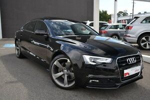 2016 Audi A5 8T MY16 S tronic quattro Black 7 Speed Sports Automatic Dual Clutch Coupe Burwood Whitehorse Area Preview