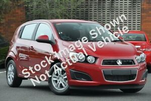 2014 Holden Barina TM MY14 CD Red 6 Speed Automatic Hatchback Winnellie Darwin City Preview