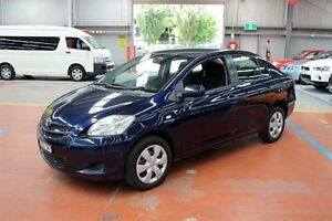 2007 Toyota Yaris NCP93R YRS Blue 5 Speed Manual Sedan Maryville Newcastle Area Preview
