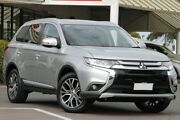 2017 Mitsubishi Outlander ZK MY18 LS AWD Silver 6 Speed Constant Variable Wagon Christies Beach Morphett Vale Area Preview