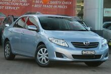 2007 Toyota Corolla ZRE152R Ascent Blue 4 Speed Automatic Sedan Rosebery Inner Sydney Preview