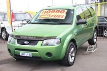2004 Ford Territory SX TS Green 4 Speed Sports Automatic Wagon Heatherton Kingston Area Preview