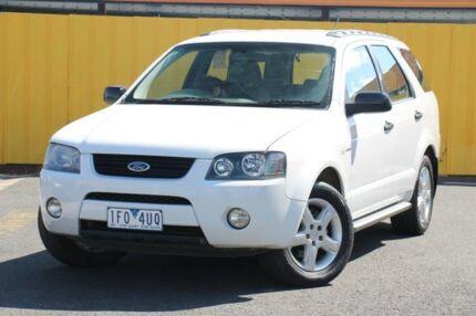 2004 Ford Territory SX TX AWD White 4 Speed Auto Seq Sportshift Wagon Heatherton Kingston Area Preview