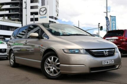 2005 Honda Odyssey 3rd Gen Luxury Gold 5 Speed Sports Automatic Wagon Liverpool Liverpool Area Preview