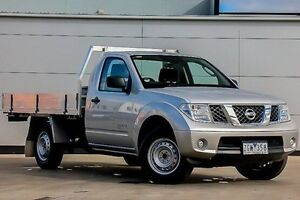 2011 Nissan Navara D40 MY11 RX Silver 6 Speed Manual Cab Chassis Pakenham Cardinia Area Preview