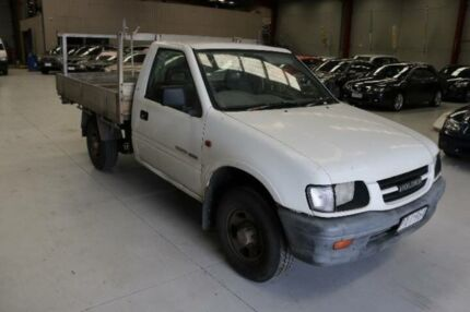 1999 Holden Rodeo TFR9 LT White 5 Speed Manual Crew Cab P/Up