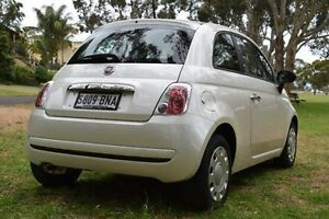 2014 Fiat 500 Series 1 POP White 5 Speed Manual Hatchback St Marys Mitcham Area Preview