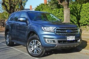 2018 Ford Everest UA II 2019.00MY Trend 4WD Blue Reflex 10 Speed Sports Automatic Wagon Medindie Walkerville Area Preview