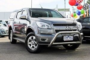 2015 Holden Colorado RG MY16 LTZ Crew Cab Grey 6 Speed Sports Automatic Utility Dandenong Greater Dandenong Preview