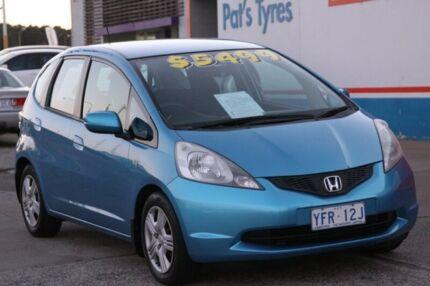 2008 Honda Jazz GE VTi Blue 5 Speed Manual Hatchback