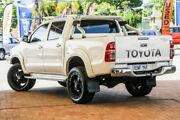 2013 Toyota Hilux GGN25R MY12 SR5 Double Cab White 5 Speed Manual Utility Melville Melville Area Preview