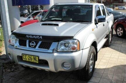 2013 Nissan Navara D22 Series 5 ST-R (4x4) Silver 5 Speed Manual Utility Newcastle West Newcastle Area Preview