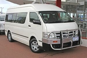 2012 Toyota Hiace TRH223R MY12 Commuter High Roof Super LWB French Vanilla 4 Speed Automatic Bus Myaree Melville Area Preview