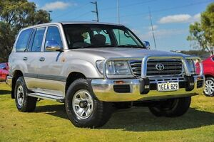 2004 Toyota Landcruiser HDJ100R GXL Silver 5 Speed Automatic Wagon Wangara Wanneroo Area Preview