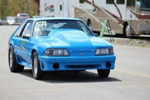 1987 FORD MUSTANG GT SUPER PRO DRAG CAR SELL/TRADE