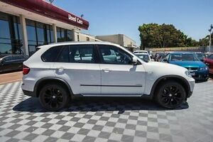 2010 BMW X5 E70 MY11 xDrive50i Steptronic Sport White 8 Speed Sports Automatic Wagon Alfred Cove Melville Area Preview