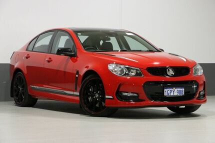 2017 Holden Commodore VF II MY17 SS-V Redline Motorsport EDT Red 6 Speed Manual Sedan Bentley Canning Area Preview